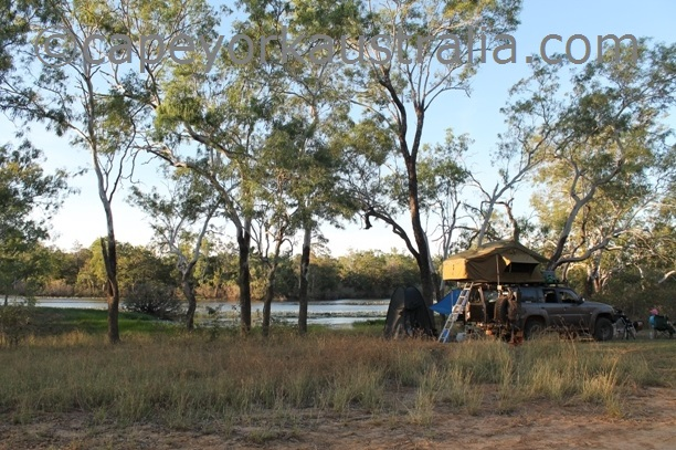 lakefield national park camping