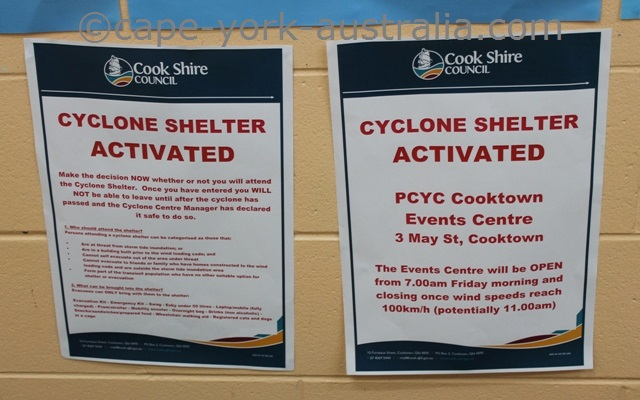 cyclone warnings