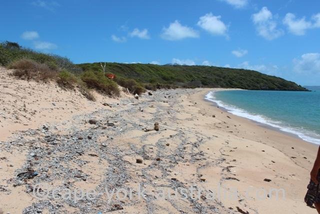 albany island beach walk
