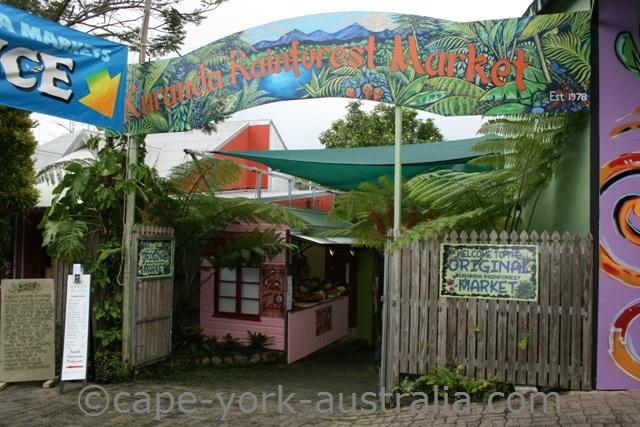 kuranda rainforest market