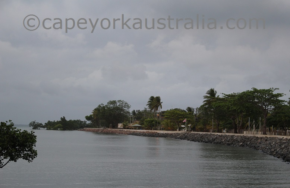 saibai island waterfront