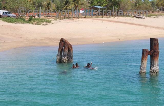 seisia wharf swimming