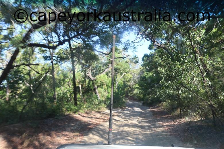 cape bedford eddies camp track