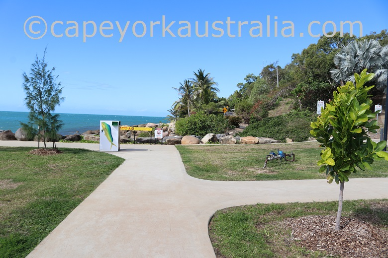 cooktown foreshore walking path
