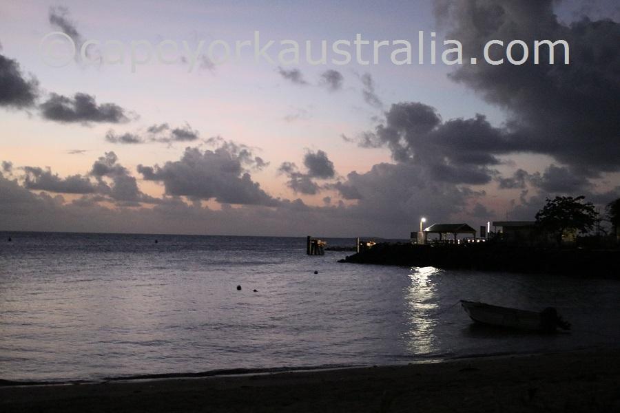 darnley island by night
