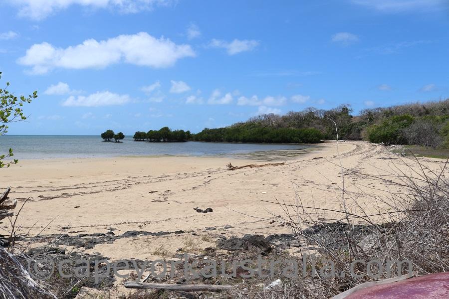 darnley island eastern beach