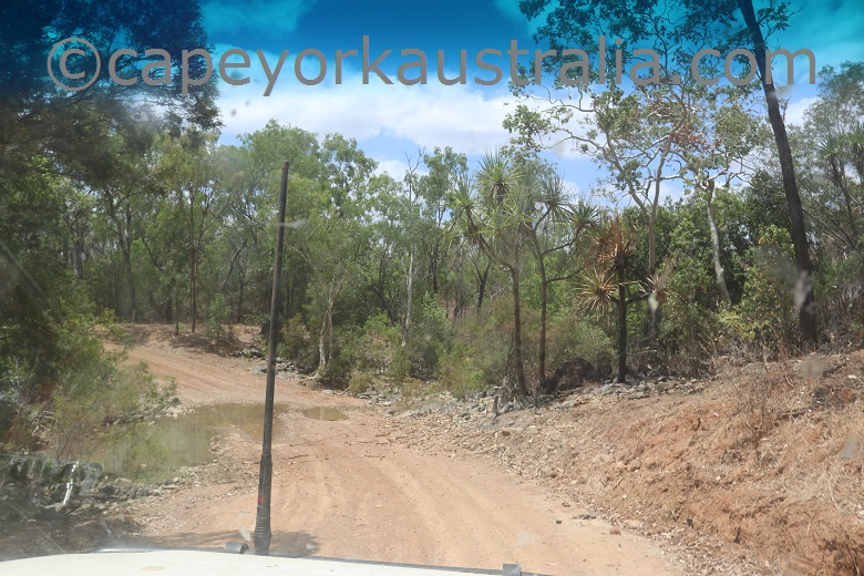 fairview to wrotham road palmer river dry
