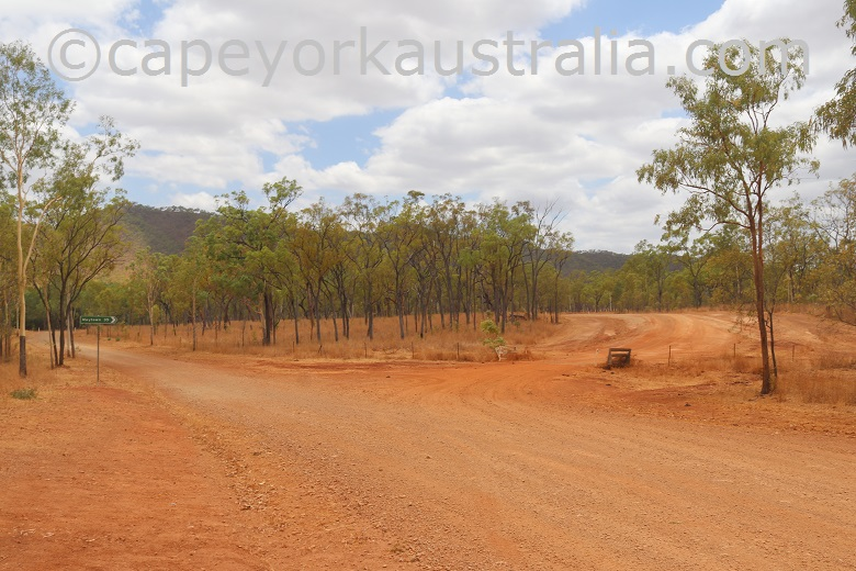 fairview to wrotham road palmer river goldfields turnoff