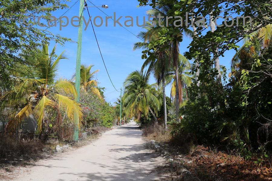 masig island street