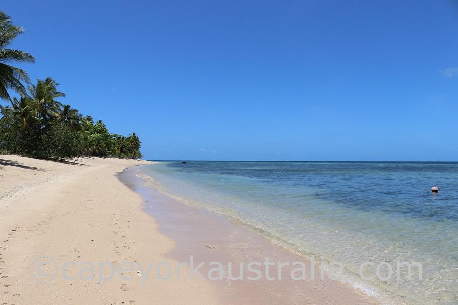 murray island beach walk