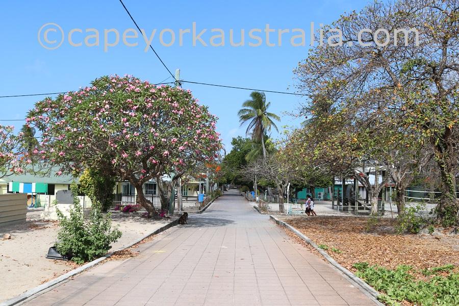 warraber island streets