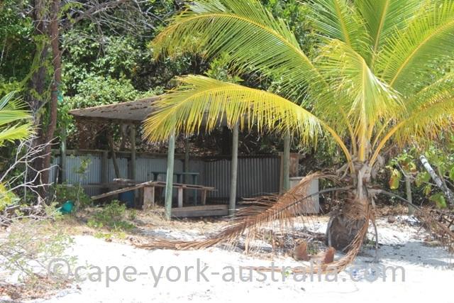 albany island beach hut
