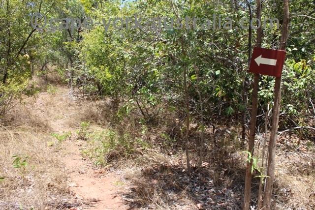 albany island walk marker
