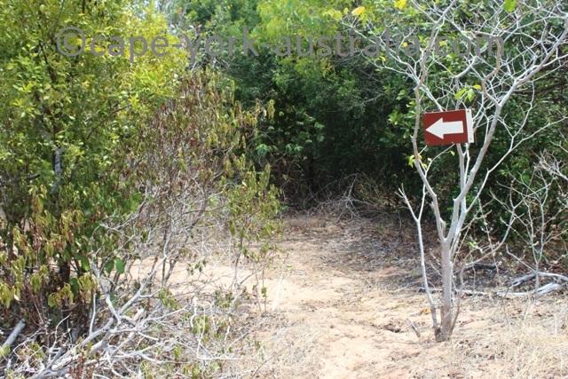 albany island walking track marker