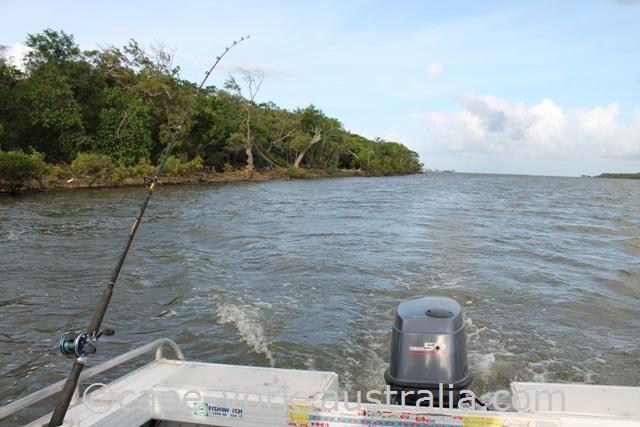 annan river boat fishing