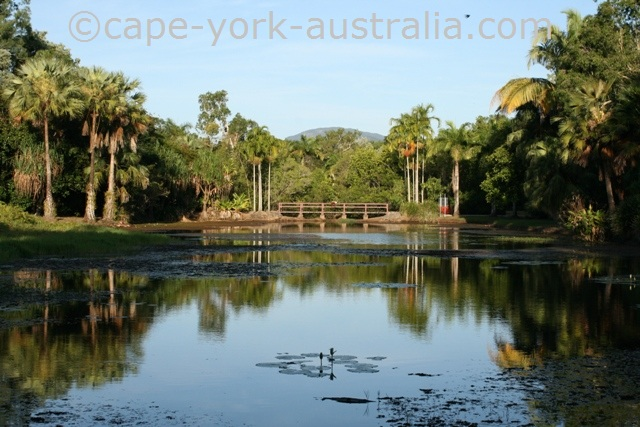 centenary lakes freshwater lake