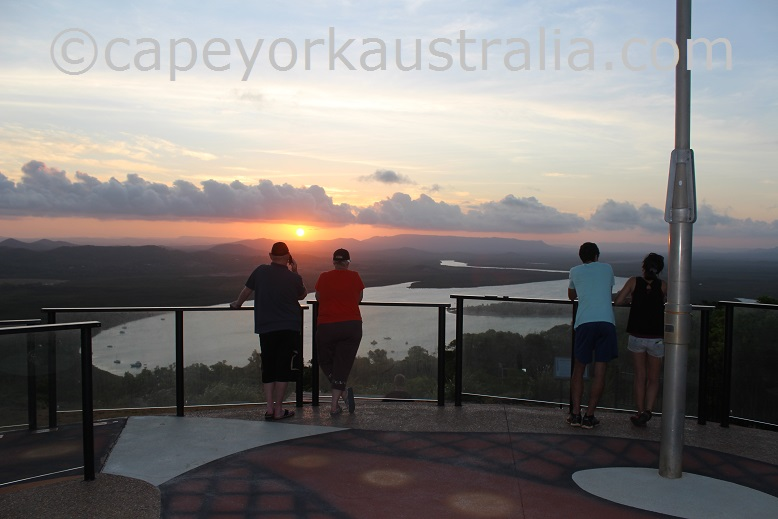 cooktown grassy hill sunset