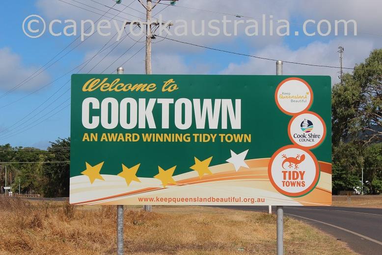 cooktown tidiest town