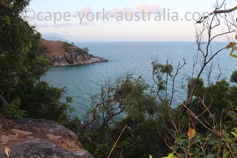 finch bay walk lookout