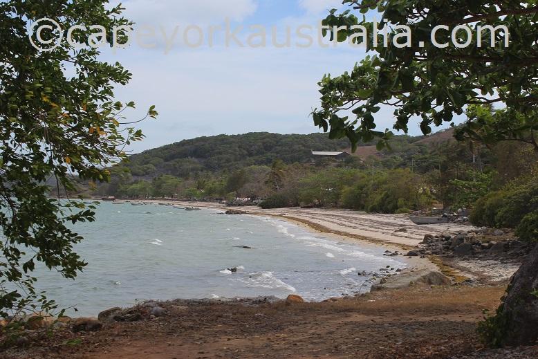 hammond island beach