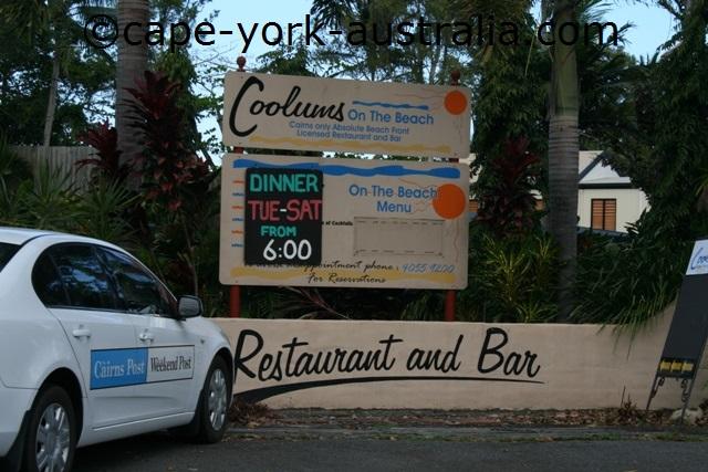 holloways beach restaurants