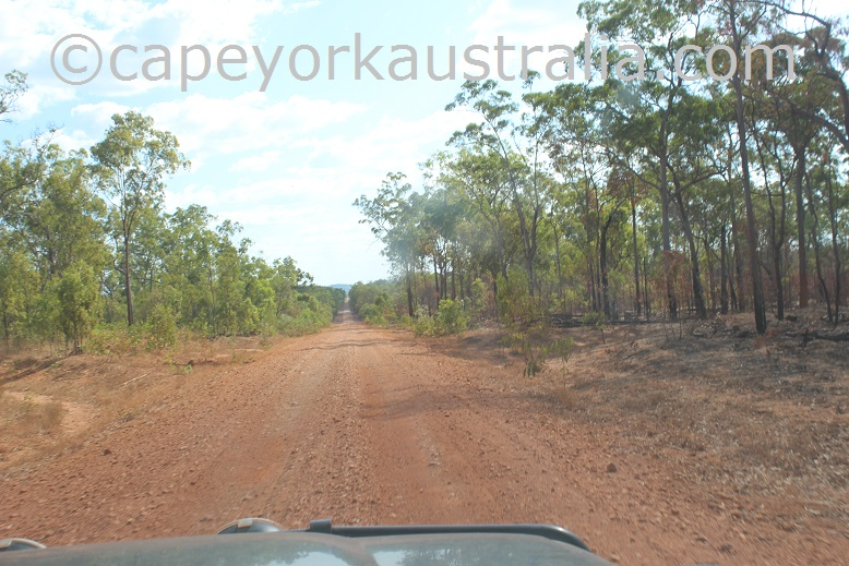 kimba to gamboola road northern end