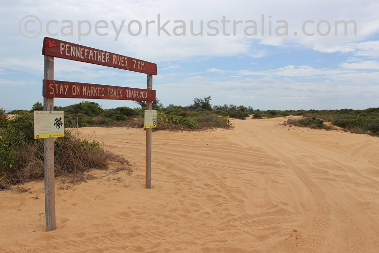pennefather beach track