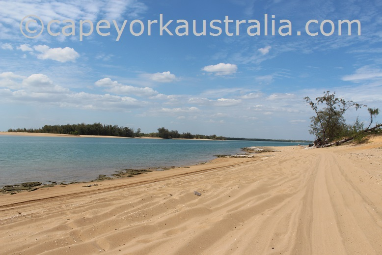 pennefather river beach