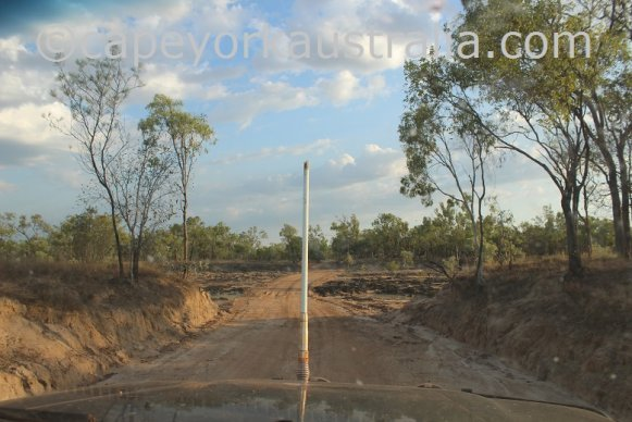 pormpuraaw to kowanyama coleman river crossing