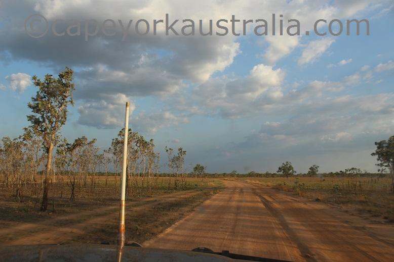pormpuraaw to kowanyama narrow road