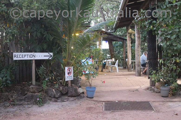 punsand bay resort reception