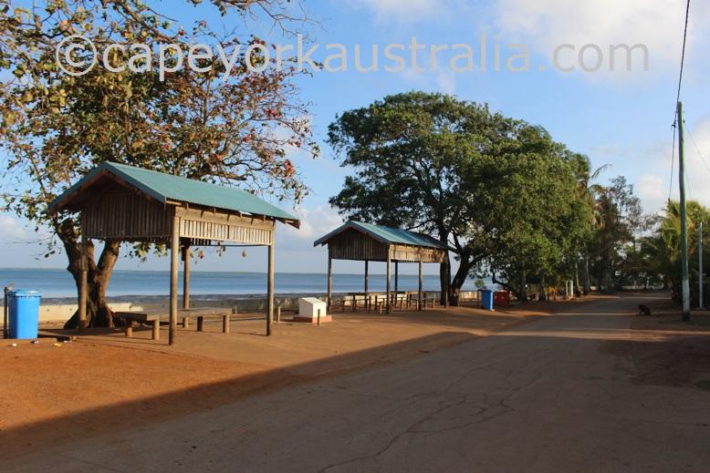 saibai picnic shelters