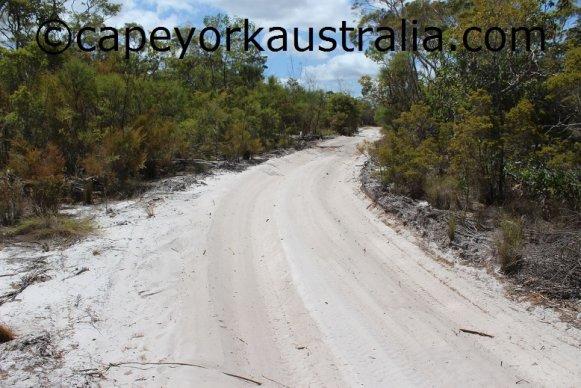skardon river sandy track