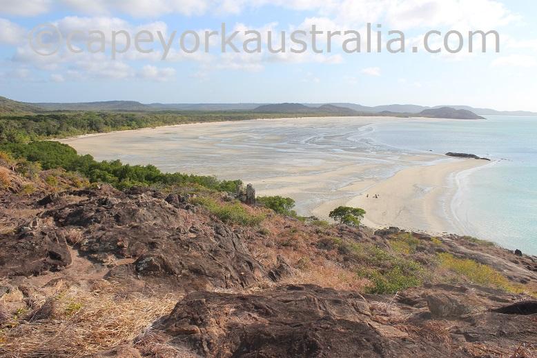 tip of australia low tide