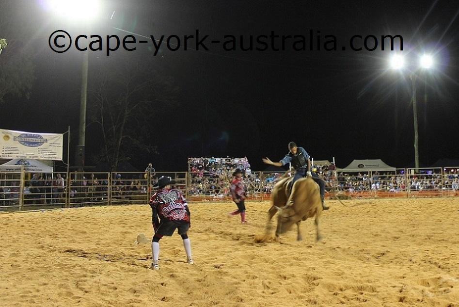 weipa bull ride adults