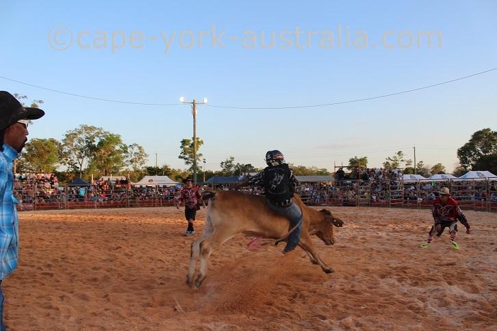 weipa bullride kids