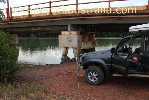weipa fishing andoom creek