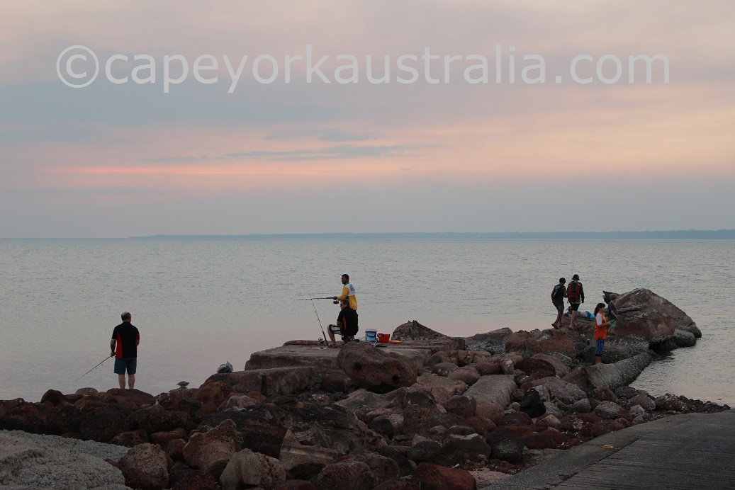 weipa fishing rocky point