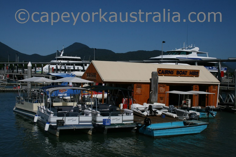 cairns boat hire