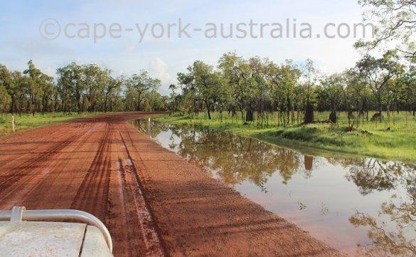 iron range road wet season 2017