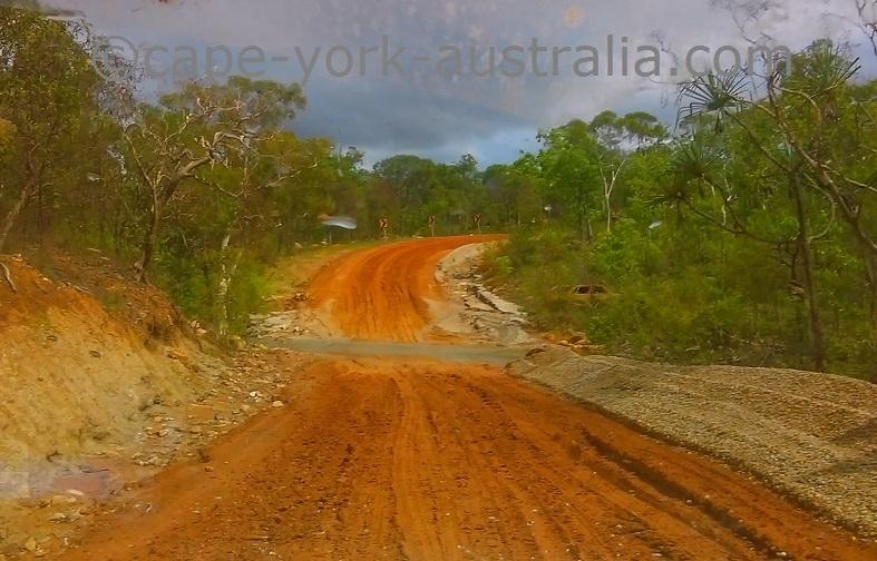 iron range road roadworks