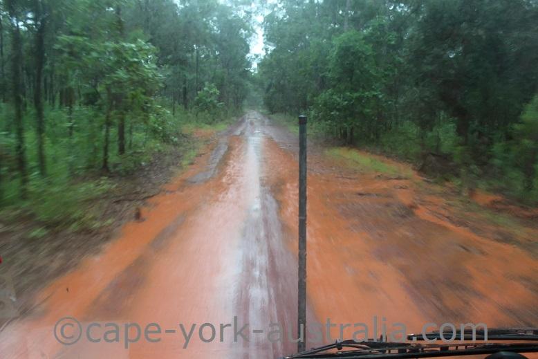 bamaga road april 2016