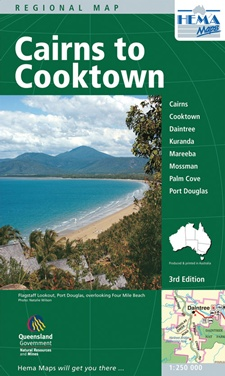 cairns to cooktown map