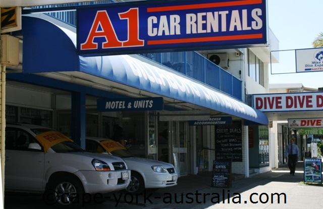 a1 car rentals cairns