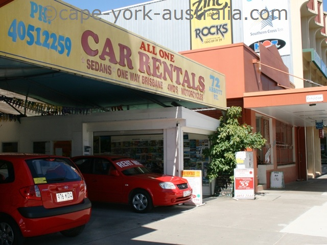 all one car rentals cairns