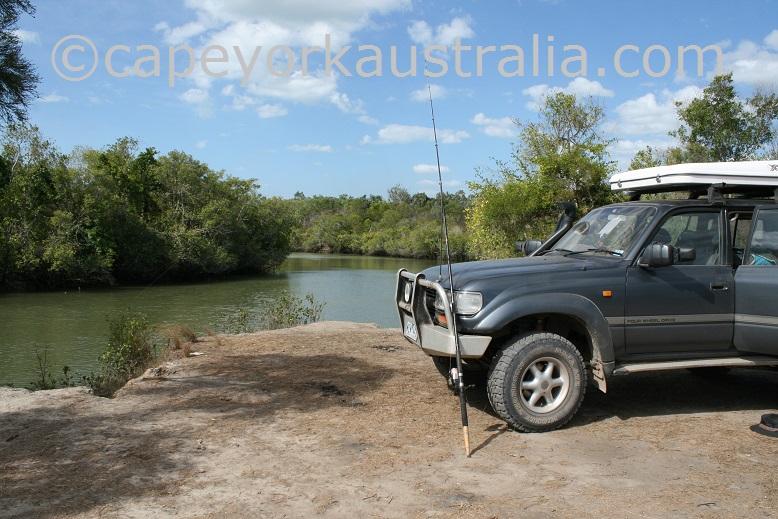 annie river fishing