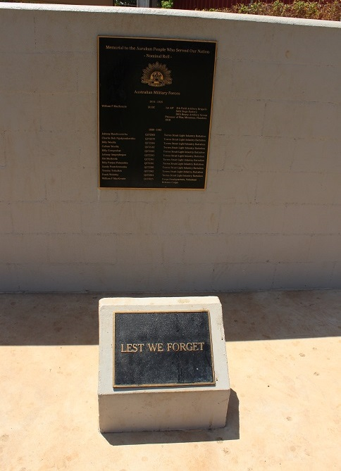 aurukun war memorial