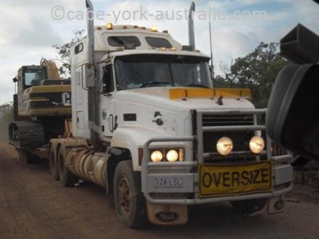 australian road trains cape york
