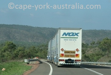 australian road trains charters towers