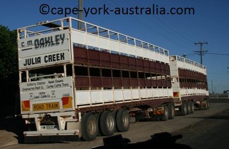 australian road trains julia creek
